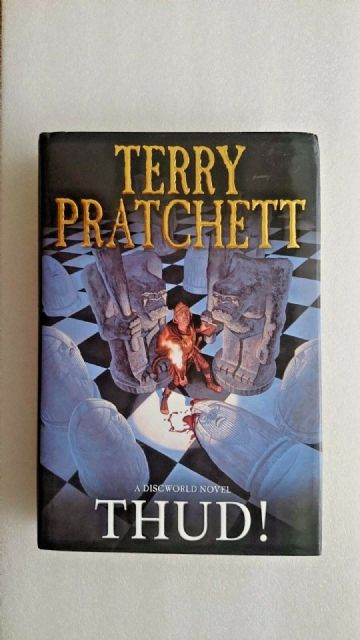 Terry Pratchett Thud A Discworld Novel Large Hardback Book (Signed)